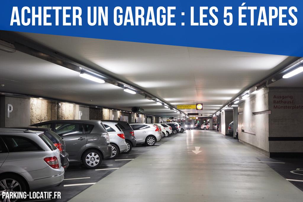 Acheter un garage : Les 5 étapes