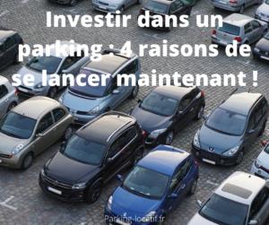 Investir dans un parking : 4 raisons de se lancer maintenant !