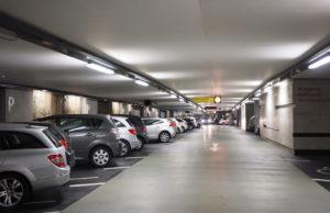 place de parking sous terraine