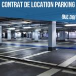 Contrat de location d'un parking